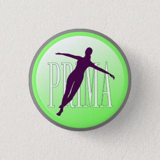 Danseur classique badge rond 2,50 cm
