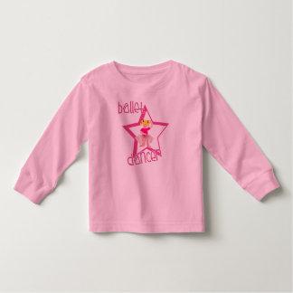 Danseur classique t-shirt pour les tous petits