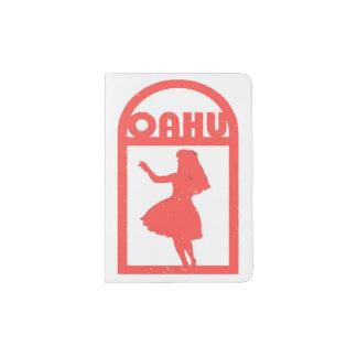 Danseur de danse polynésienne d'Oahu Protège-passeports