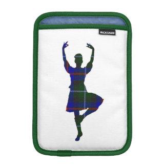Danseur des montagnes écossais double face housse pour iPad mini