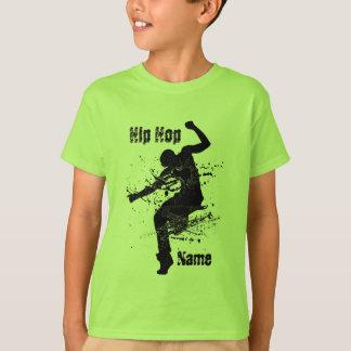 Danseur personnalisé de hip hop t-shirt