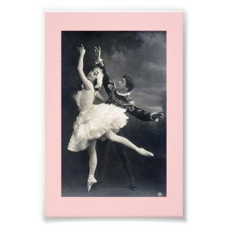 Danseurs classiques vintages  tirage photo