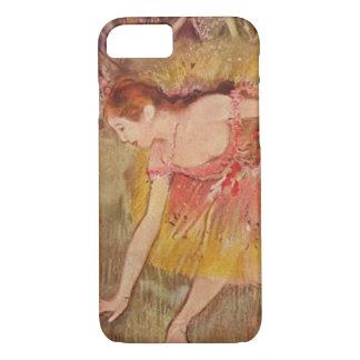 Danseurs d'Edgar Degas se pliant en bas du coque