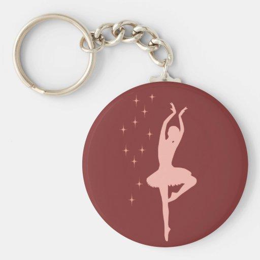 Danseuse de ballerine porte-clés