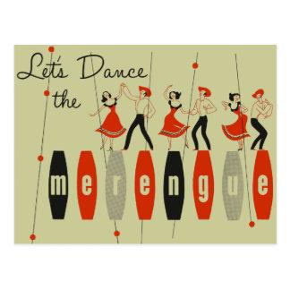 Dansons le Merengue Carte Postale