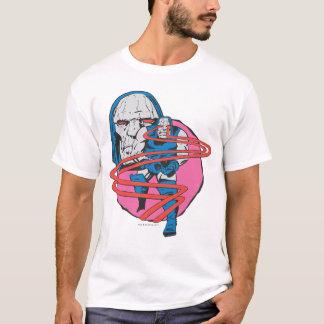 Darkseid tire des faisceaux d'Omega T-shirt
