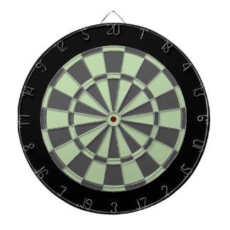 Dartboard: Grijze salie, Houtskool, en Zwarte Dartbord