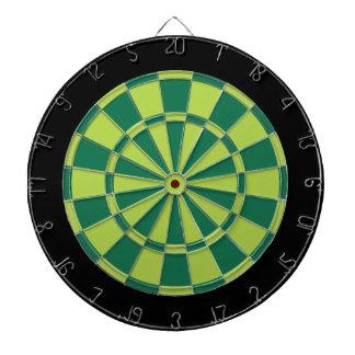 Dartboard: Limoen, Groen, en Zwarte Dartbord