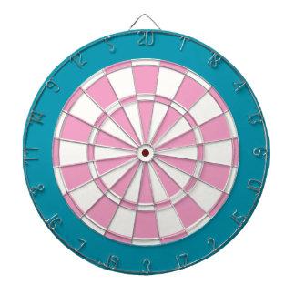 Dartboard: Wit, Roze, en Wintertaling Dartbord