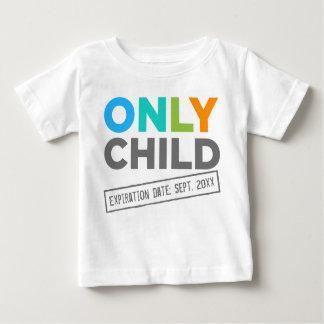 Date d'échéance d'enfant unique [votre date] t-shirt pour bébé