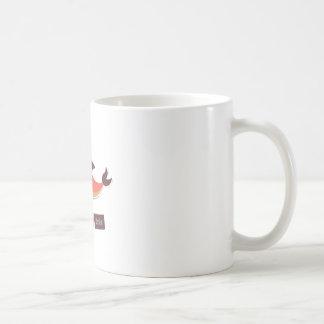 Dauphin rouge mug