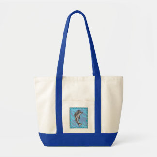 Dauphin Tote Bag