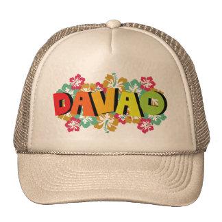 Davao Philippines sur les fleurs tropicales de Casquette