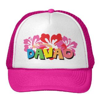 Davao Philippines sur les fleurs tropicales de Casquettes De Camionneur