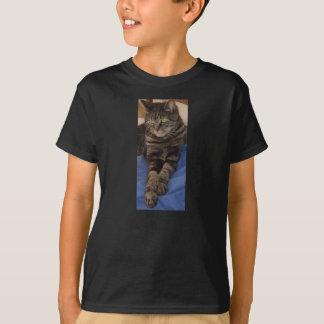Dave majestueux badine le T-shirt noir