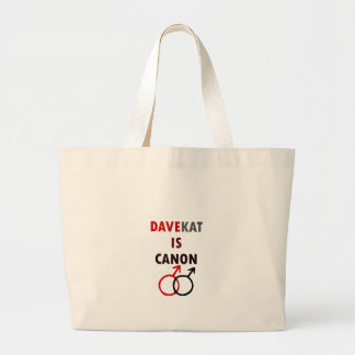 Davekat est Canon (v1) Grand Tote Bag