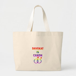 Davekat est Canon (v2) Grand Tote Bag
