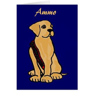 DB cartes pour notes jaunes de Labrador
