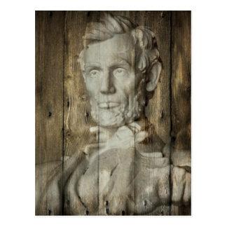 DC Abraham Lincoln du Lincoln Memorial Washington Carte Postale