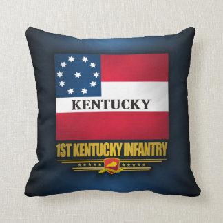 de 1st Infanterie van Kentucky Sierkussen