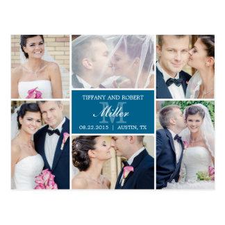 De Aankondiging van het Huwelijk van de Collage Briefkaart