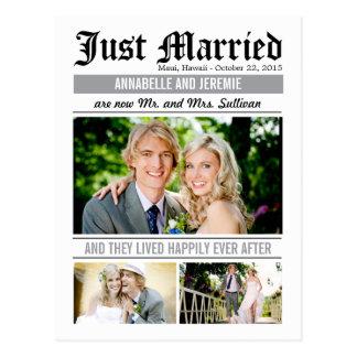 De Aankondiging van het Huwelijk van het Nieuws Briefkaart