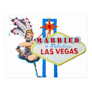 De Aankondiging van het Huwelijk van Las Vegas Briefkaart