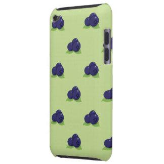 de aanraking van het bosbessenpatroon ipod iPod touch hoesje