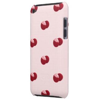 de aanraking van het litchipatroon ipod iPod touch hoesje