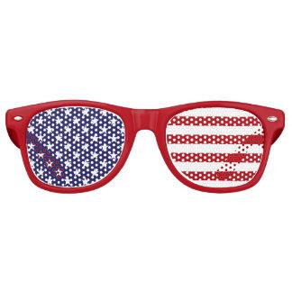 De Amerikaanse Vlag van de V.S. - Sterren en Retro Zonnebril