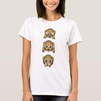 De Apen van Emoji T Shirt