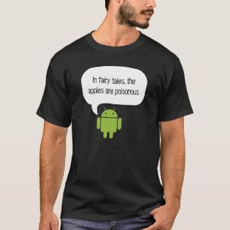 De appelen zijn vergift androïde overhemd t shirt