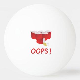 De Bal van de Pingpong van Pong van het bier Pingpongballetjes