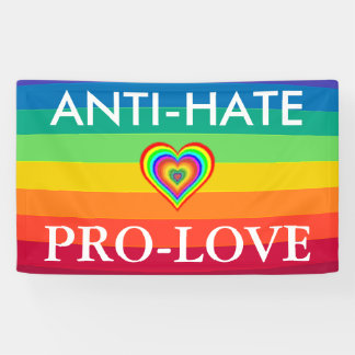 De Banner van de Regenboog van het Protest LGBT