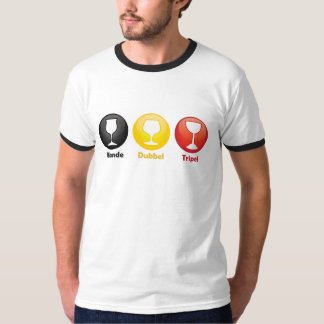 De Belgische Pictogrammen van het Bier T Shirt