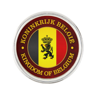 De Belgische Vlag van de Staat Reverspeld