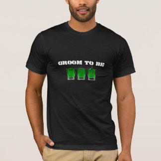 De Bemanning van de Steun van de vrijgezel - T Shirt