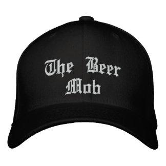 De bière de foule casquette adapté par mouche