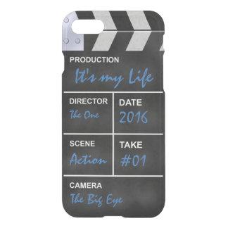 """De bioskoop van Clapperboard """"het is mijn Leven """" iPhone 8/7 Hoesje"""