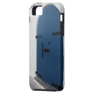 De blauwe Deur Tough iPhone 5 Hoesje