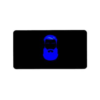 De blauwe Etiketten van de Baard