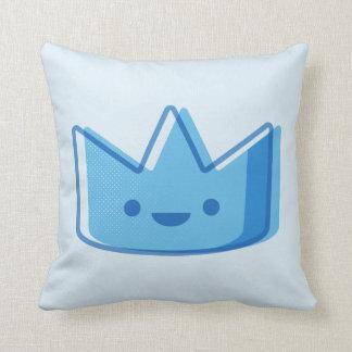 De Blauwe Kroon van het baby Sierkussen