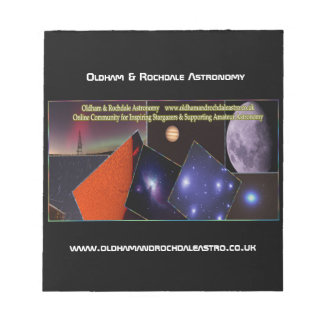 De Blocnote van Oldham & van Rochdale Astro