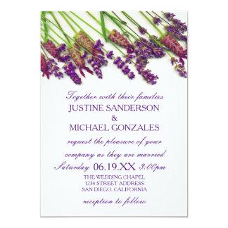 De Bloemen van de lavendel - de Uitnodiging van