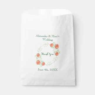 De bloemen Zakken van de Gunst van het Huwelijk - Bedankzakje