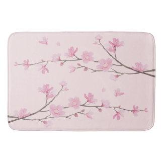 De Bloesem van de kers - Roze Badmat