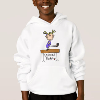 De blonde Turner van het Meisje op de T-shirts en