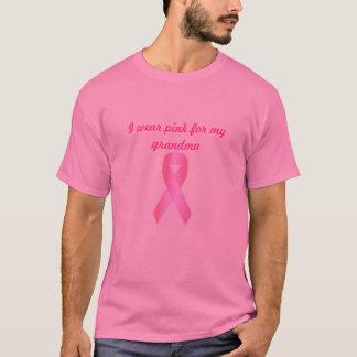 De borstkanker van de steun t shirt