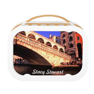 De Brug van Rialto, Venetië, Italië Lunchbox