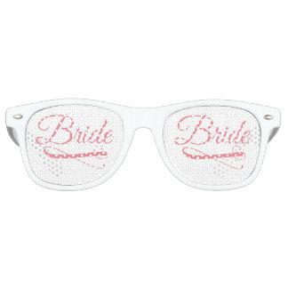 De bruid bloeit Roze Retro Zonnebril